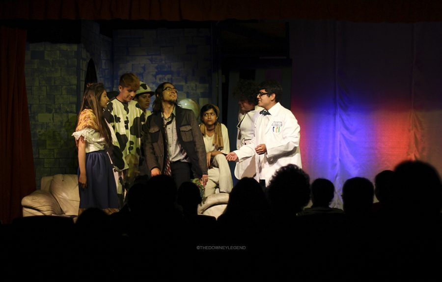 """DHS's Drama Production's play Fools, casted by Lars Hansen, narrated the funny story of a town cursed with stupidity, had its final showing on May 5, 2016. """"I feel as if it was a great play to have as my final show in Downey,"""" Elizeo Velasquez, 12, the protagonist of Fools, said. """"The characters and memories made on that stage will surely bring back a smile when I think about it in the future."""""""