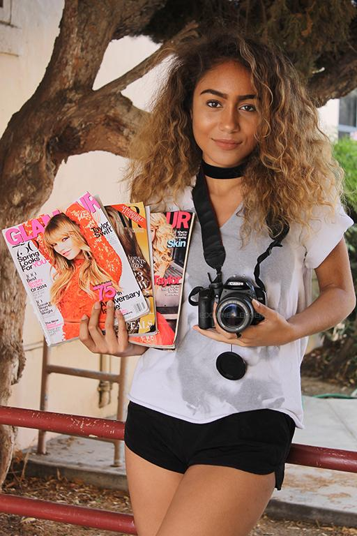 """Not sure what she career she wants to pursue more, but having a passion in arts, Chelsea Mendoza, 12, is interested in becoming a photographer or a writer. """"I chose this career because I love art, words, writing, anything creative, and beautiful or poetic,"""" Mendoza stated. """"I love looking at things differently, or saying things differently, being able to write in a magazine they could see things the way I do."""""""