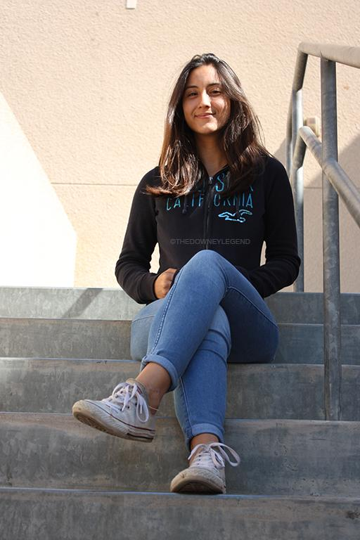 """In her four years of high school, Daniela Salazar,12, has worked hard make it to the top 14 scholars of Downey High School. """"I have always been self motivated,"""" Salazar stated. """"But I also have to give credit to my parents because they've always pushed me to work hard so that I won't face the same struggles they've had to face."""""""