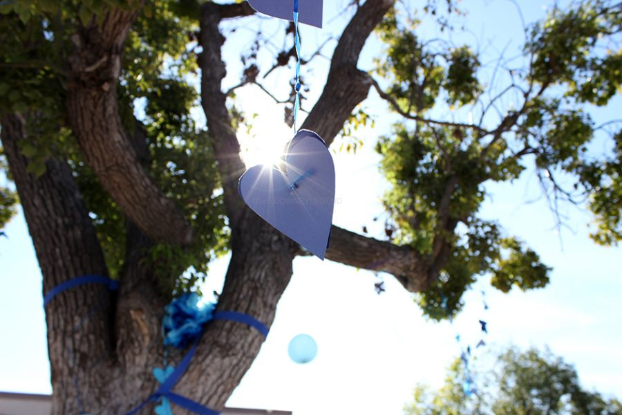 To celebrate Character Counts Week, from Oct. 16 through the 20, ASB decorates the trees in the quad with the pillar of character colors.