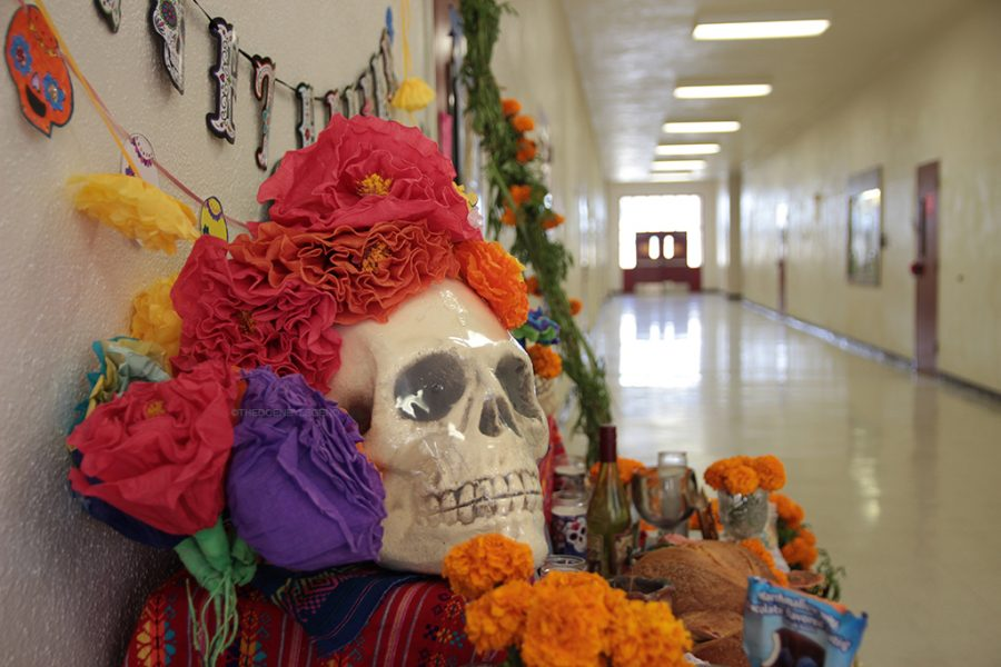 Mexico's traditional holiday known as Dia de los Muertos, or Day of the Dead, is known as a celebration of loved ones who are now resting in paradise. Families lay out their loved ones favorite snacks over their graves so that on Oct 31 through Nov 2, they come back and enjoy their favorite meals before laying to rest once again.
