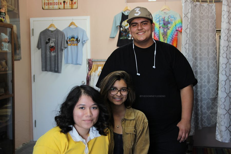 "With her brother, Josh Tafolla, 11, and best friend Destiny Mora, 12, by her side to help her with Mas Vintage, Samantha Tafolla ,11, establishes her store at the age of sixteen. ""She's [destiny] been with me since day one,"" Tafolla said. ""Ever since I told her, she has supported me and has helped me get through it all."""