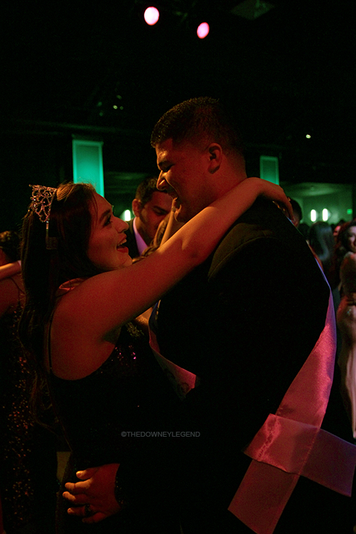 "Every Winter Formal, it is tradition for the Formal King and Queen to dance to a slow song together; this year, Formal Queen Valeria Corral, 12, decided her and the formal king would walk off and dance with their original dates. ""Instead of finishing our dance I came up with an idea,"" Corral said. ""We would branch off and dance with our own dates."""