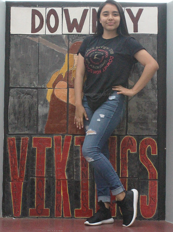 """Nominated for a Viking award, Katherine Trujillo, 11, feels she earned the right to be proud of her nomination. """"I am really proud that I was nominated for the Viking awards,"""" Trujillo said. """"I couldn't stop smiling the whole day."""""""