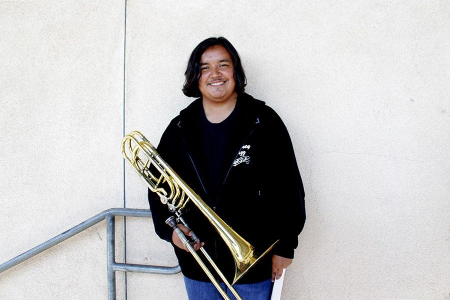"""A big fan of Jazz, Andy Garcia, 12, went to a Jazz festival accompanied by the rest of the Downey High School Jazz Band. """"It was great, it was like just Jazz everywhere and jazz is something I really appreciate and like to listen to,"""" Garcia said, """"so it was basically like being in a dream of mine."""""""