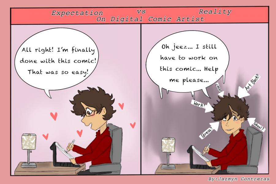 Expectation vs. Reality: Comics