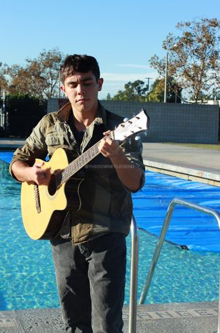 "Showcasing one of his many abilities, senior Christopher Benitez is a self-taught musician; apart from guitar, he also learned how to play the piano. ""It was a really hard experience learning it all on my own,"" Benitez stated. ""But after awhile of learning the guitar it felt amazing because I was able to add more to what I was learning."""