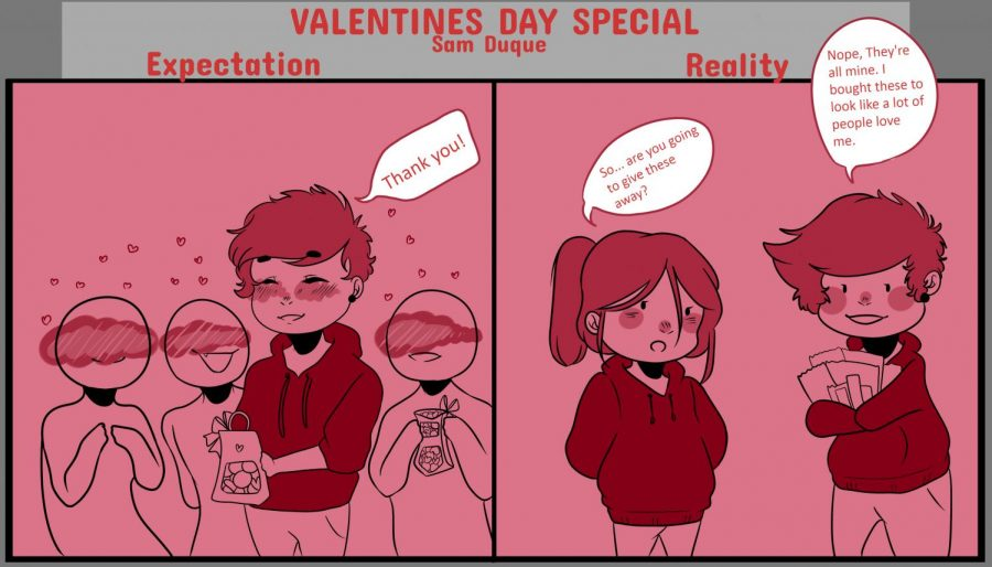 Valentine's Day: Expectations vs. Reality