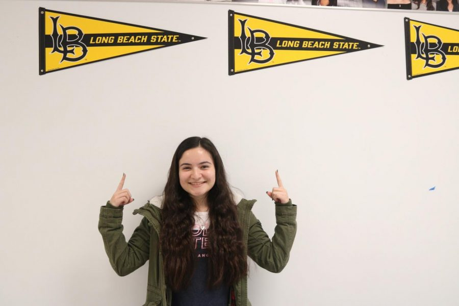 """Senior Adriana Quintero applied to many schools across California and Oregon, she did not expect to get into CSULB because her major is severely impacted.  """"When I saw that I got into Long Beach, I wanted to cry because the school is so hard to get into for any form of Biology,"""" Quintero said.  """"I have wanted to major in Marine Biology since sophomore year and I was so happy that they accepted me."""""""