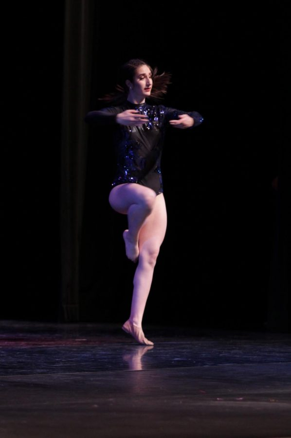 On+Feb.+21%2C+Constantina+Hernand%2C+12%2C+performs+as+a+soloist+and+alongside+the+Downey+High+School+dance+team+at+the+Benefit+Dance+Concert+held+in+the+Downey+Civic+theatre.+%E2%80%9CIt%E2%80%99s+%5BBenefit+dance%5D+important+because+I+feel+that+giving+back+to+the+community+is+the+best+thing+that+we+can+do%2C%E2%80%9D+Hernand+said.+%E2%80%9CShowing+our+love+by+being+a+part+of+it+%5BBenefit+Dance%5D+is+an+incredibly+satisfying+feeling.%E2%80%9D+