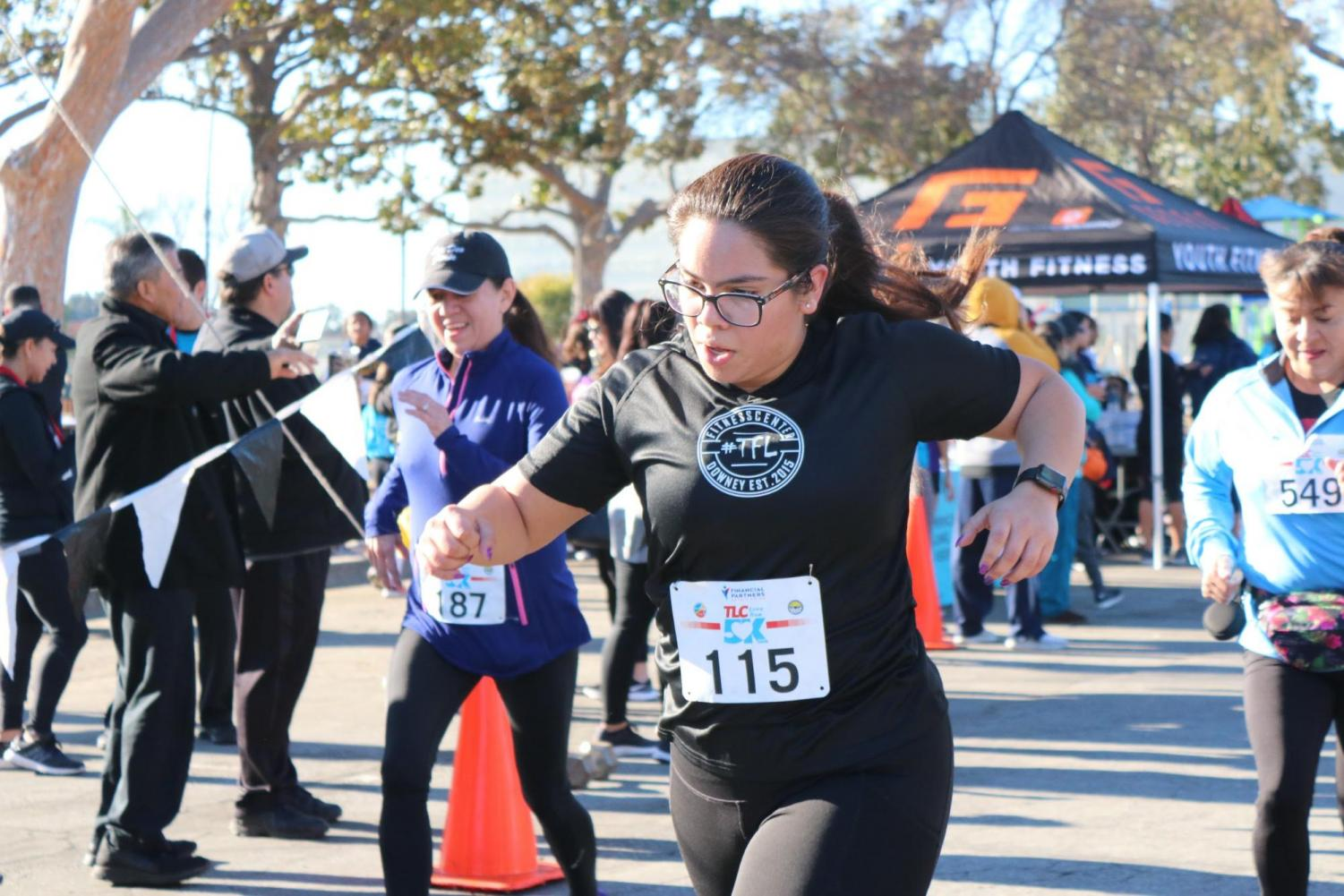 Senior+Linette+Cortes+participated+in+TLC%E2%80%99s+5K+Run+on+Feb.+23+at+Apollo+Park+for+the+purpose+of+wanting+to+help+the+organization+raise+money.+%E2%80%9CThe+Downey+community+came+together+as+a+whole%2C%E2%80%9D+Cortes+said.+%E2%80%9CEveryone+helped+raise+money+to+help+promote+a+better+and+healthier+life+for+everyone.%E2%80%9D