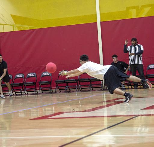 """On March 29th, Downey High School held their annual Dodgeball Tournament where senior Damian Menendez helped and hyped his team to victory. """"I'm just happy we won man, """"Mendez said. """"We all did our best and we were victorious!"""""""