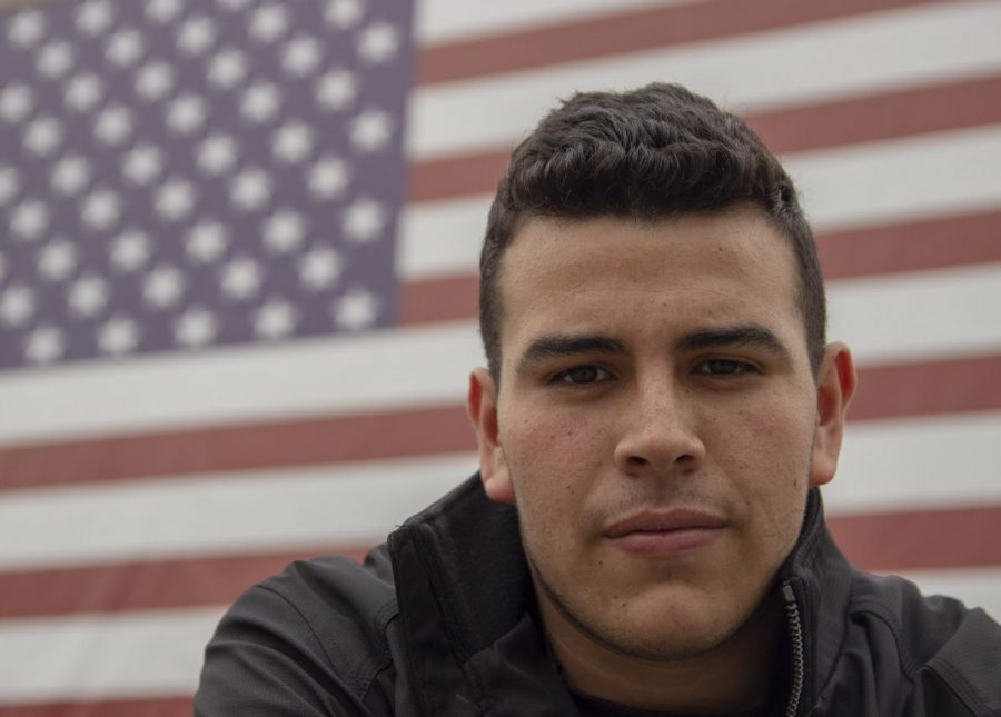 """Hugo Guerrero, 12, plans on joining the army after high school because of the opportunities that they give and the honor of serving his freedom. """"I joined the army because of the benefits they have to offer and because its an opportunity to achieve many of my goals,"""" Guerrero said. """" I also think it would be an honor to serve for my country."""""""