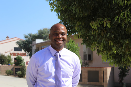 """Downey High School has welcomed a new Dean of Discipline, Golden Fowler, former teacher, and Resource Specialist at Cesar Chavez High School for 10 years, in the city of Compton. """"It's been my fifth week and it's been a great experience, I love Downey"""", Fowler said."""