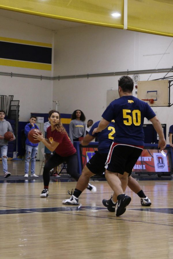 On Wed. November 13 Downeys Girls Basketball team hosted a faculty Vs faculty game against Warren High. This game took place away, and served as a fundraiser for the team.