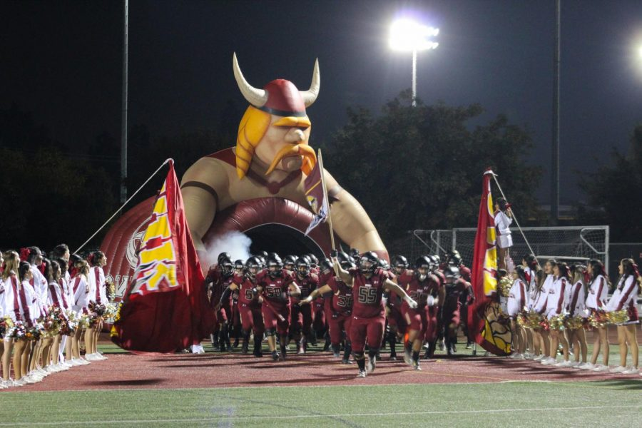 The Downey High School varsity football team end the season with a loss to the home game against the Camarillo Scorpions. The Vikes managed to make it to the second game in the playoffs and ended up with a final score of 27-28 on Friday, Nov. 15.