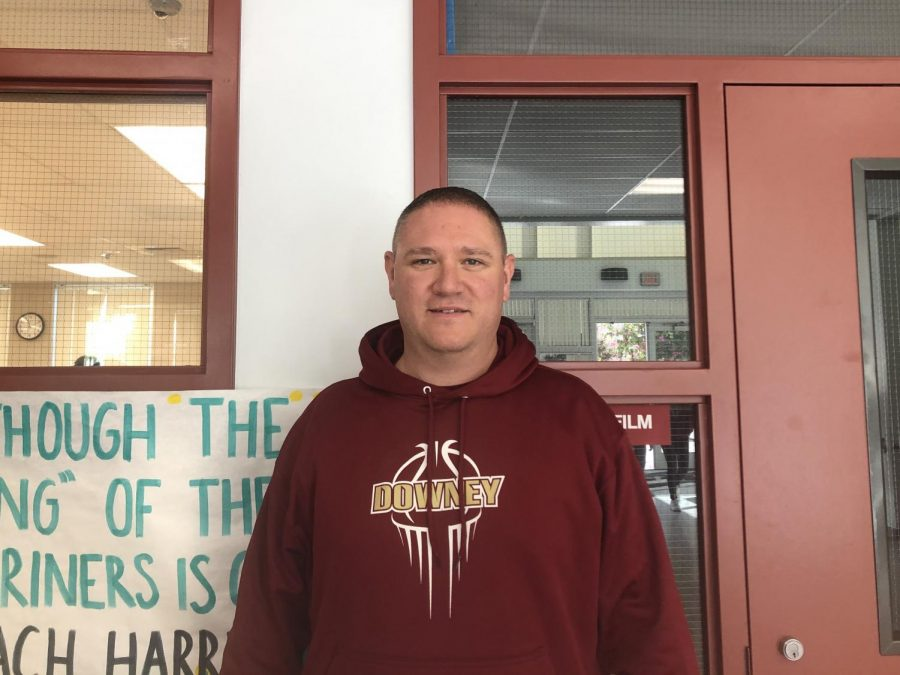 """This year's winner of the 10-10-20 challenge, Mr. Harris, Science teacher, lost over 50 pounds in 10 weeks, his diet consisted of shakes and organic foods that helped him achieve his goal. """"I actually did this program called R-Bond, the shakes they use in place of two meals per day and then the third meal you eat organically,"""" Harris continues. """"I want to continue to be healthy and lose weight but I hope I never win another competition like this again because if I do it means I probably gained weight back."""""""