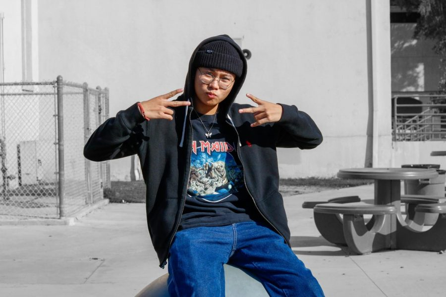 As+a+student+skater%2C+Jonay+Reyes%2C+12%2C+enjoys+going+out+with+friends+to+skate+when+he+has+free+time.+%E2%80%9CUsually+after+school%2C+the+homies+and+I+just+skate+to+wherever+and+we+just+hang+out+and+chill+till+about+five%2C%E2%80%9D+Reyes+said.+%E2%80%9CSometimes+%5Bon+weekends+or+breaks%5D+we+like+to+go+to+LA+and+street+skate+all+day+long.%E2%80%9D%0A