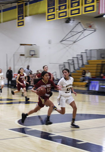 "Having a passion for basketball, Kiki El, 10, leaves everything on the court contributing to the win against the Warren Bears. ""When I was young, I naturally found myself loving and doing well in this sport, and throughout the years I saw how well my passing abilities were,"" El said. ""Although teamwork and communication is the most important ability to have."""