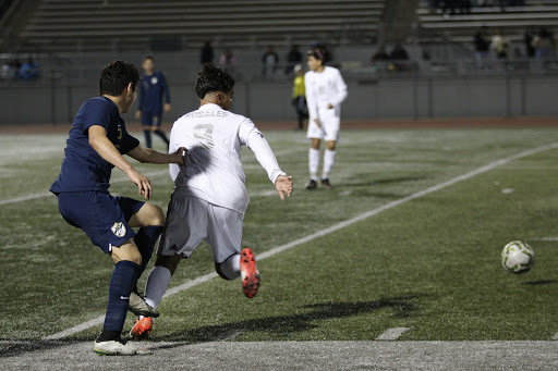 """Transferred from St. Pius, Maximo Rosales, 12, feels beyond happy to have joined the soccer team because he feels like he has made a second family. """"Their heartwarming welcoming has made me feel as if I was playing with them since my freshman year,"""" Maximo stated. """"The transition from St. Pius to Downey High school for the soccer program has been incredible and challenging but my team has been there for me."""""""