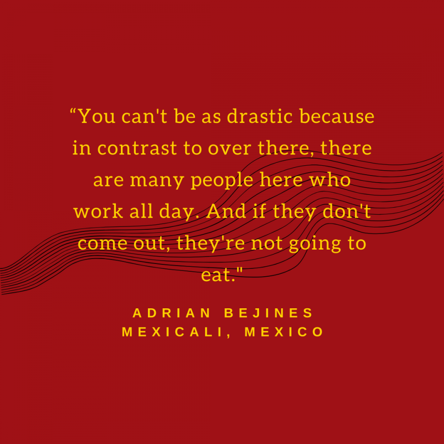 Mexican citizen shares how Covid-19 has affected his medical profession.