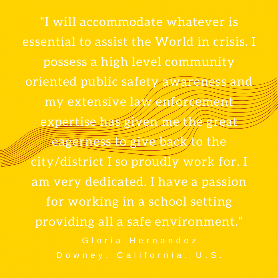 Downey High security guard shares her sense of purpose amidst Covid-19