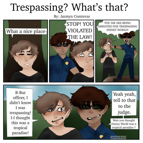 Trespassing? What