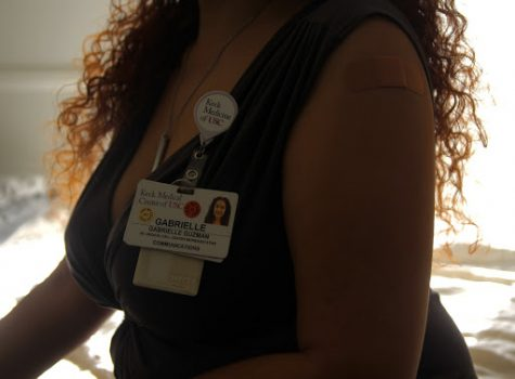 "Acknowledging the severity of receiving a vaccine, Internal Medicine physician, Ana Stark, testified. ""There is no political statement being made in wearing a mask or getting a vaccine...it simply does not exist,"" states the Salvadoran born successor. Though science is never 100% certain, Stark informs that the trials have reflected promising results. Motivated to pursue a career in medicine after witnessing innumerable deaths of all ages in El Salvador, Stark tells ""death follows you"" and the most common factor seen throughout her patients is regret. Having witnessed patients say ""goodbye"" through iPads and experienced rigorous hours double gloved, N95 masked, and shielded—Stark views the vaccine as a testament to hope."