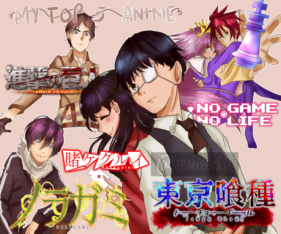 My Top 5 Anime