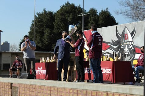 """The Downey High Esports team, known as The Home Slices wins the Esports Championship for the first time in two years against Warren. Mr. Kraus, their coach, gives an insight to his favorite thing about coaching esports. """"I love the freedom to let the young people take charge and handle it, and improve, and grow through the sport."""" Kraus stated. """"It"""