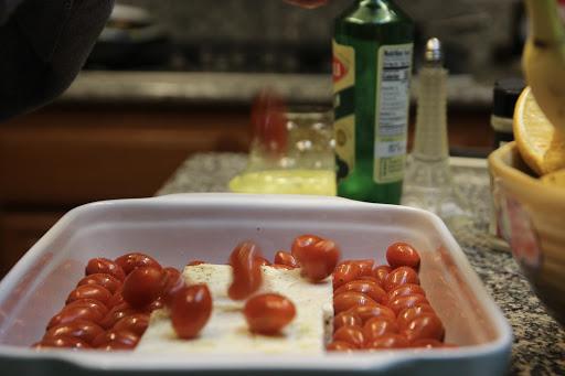 Baked Feta Pasta: